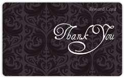 Fancy Thank You Card