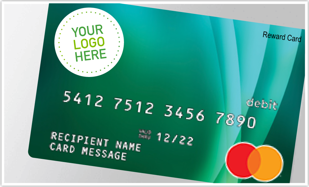 Add your logo to a Visa prepaid card